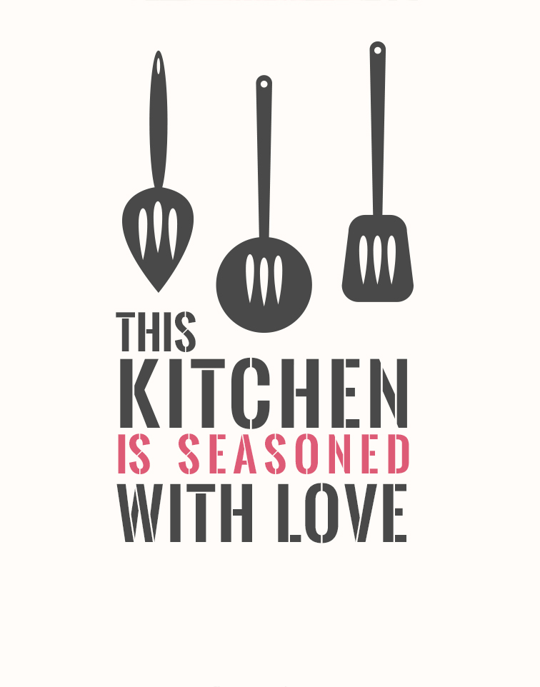 Kitchen Decor This Kitchen Is Seasoned With Love