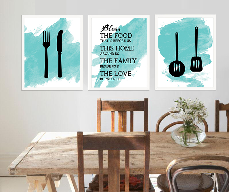 Beau Kitchen Wall Decor