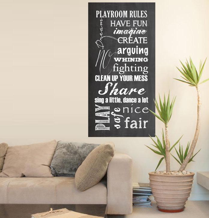 playroom rule