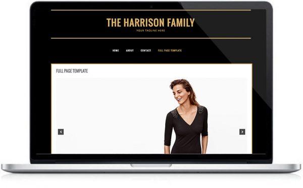 Family Blog Design