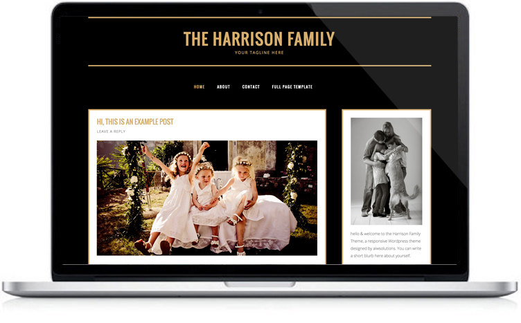 Family blog Design