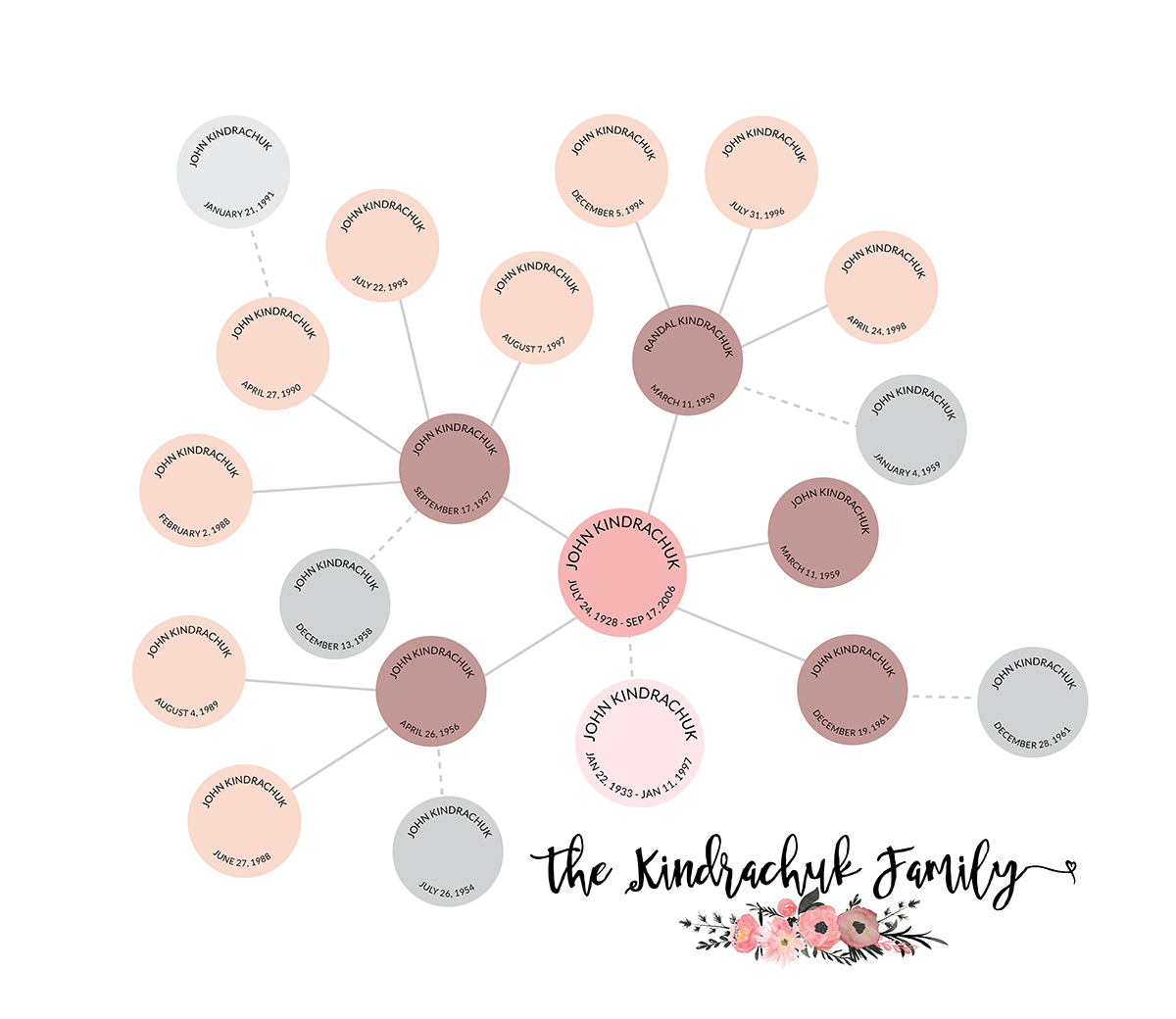 Top family history family tree, fan chart, genealogy reunion , wall  YO23