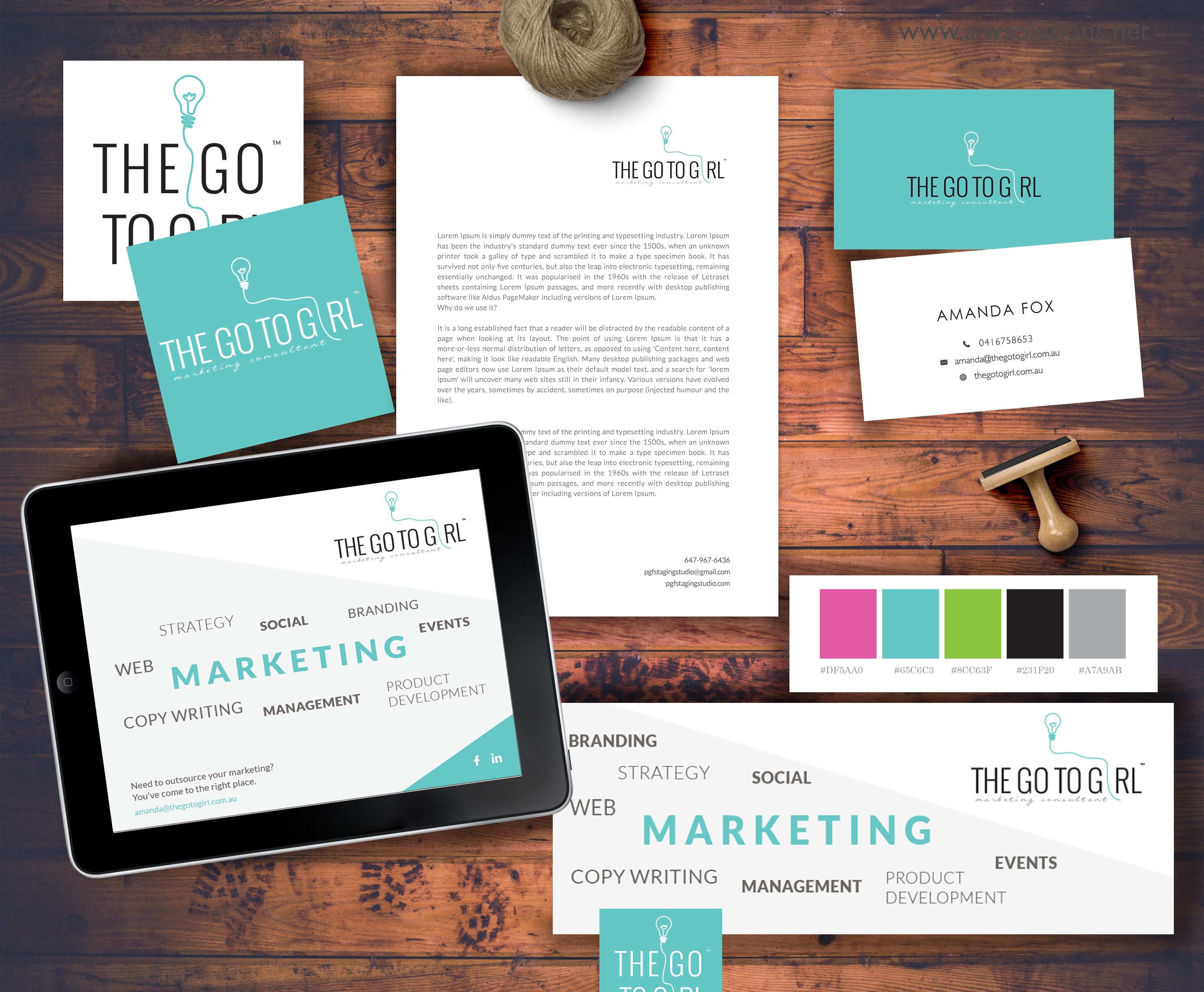 Marketing branding design