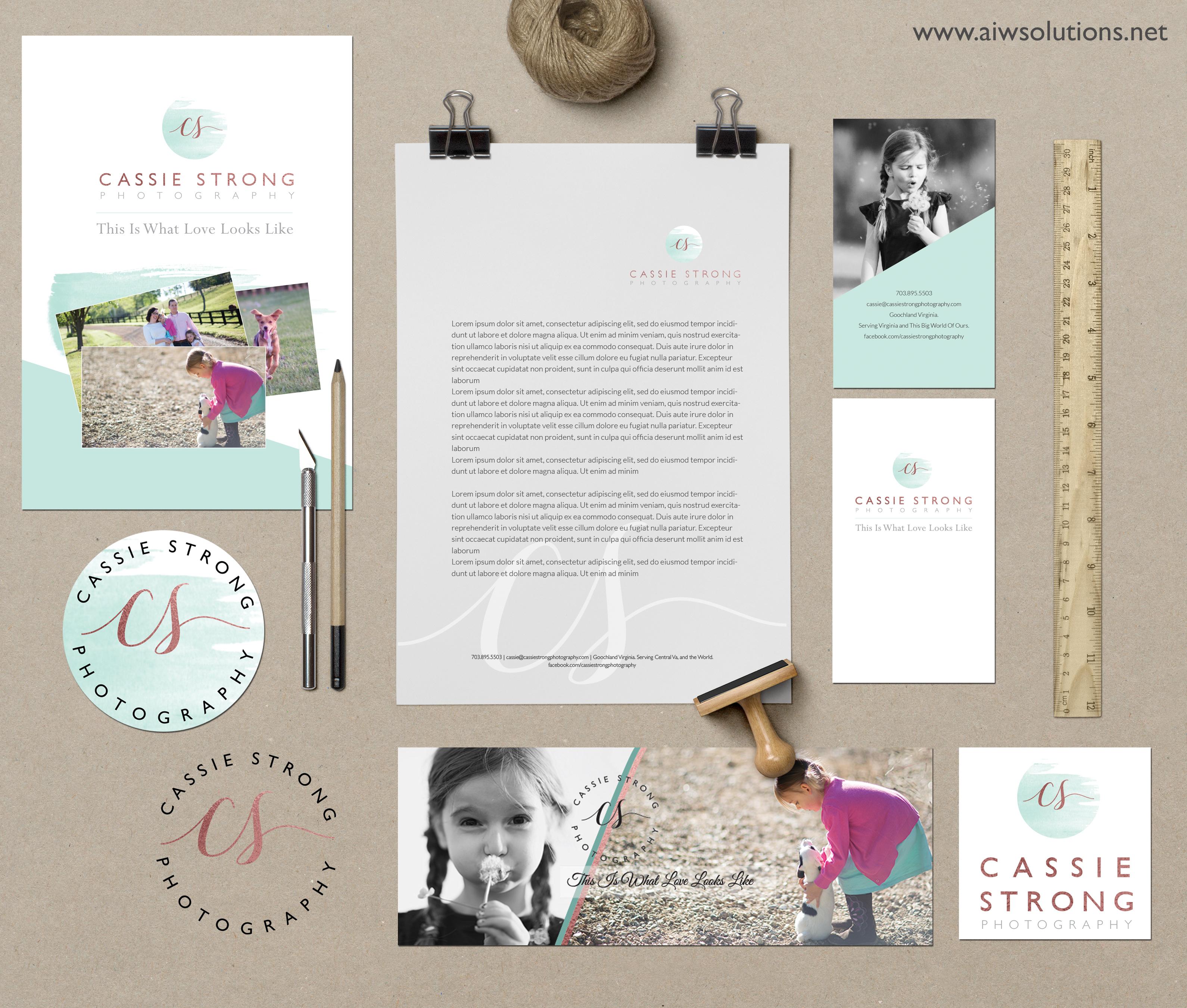 custom branding kit  identity brand kit  custom branding