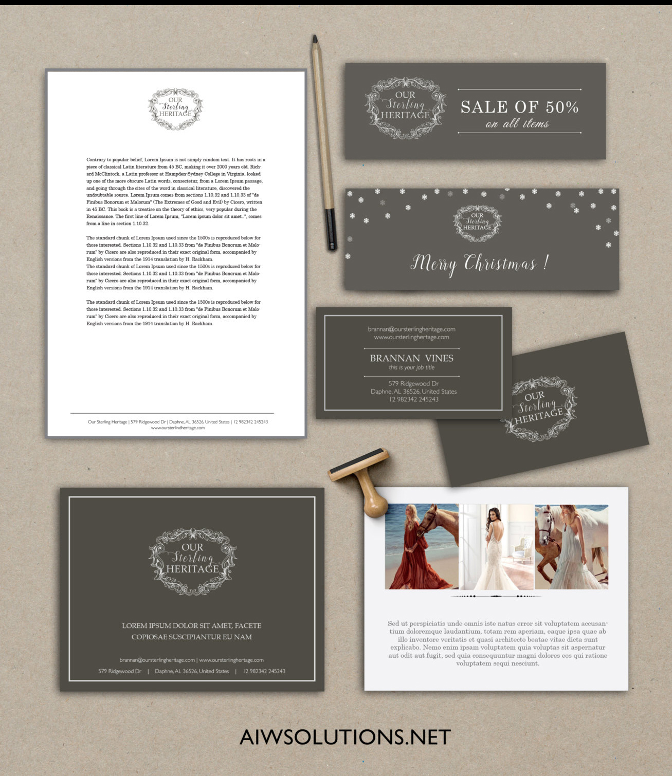 custom branding design copy
