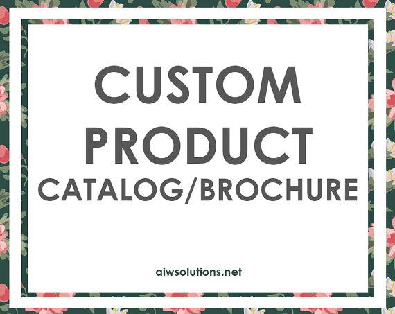 custom product catalog