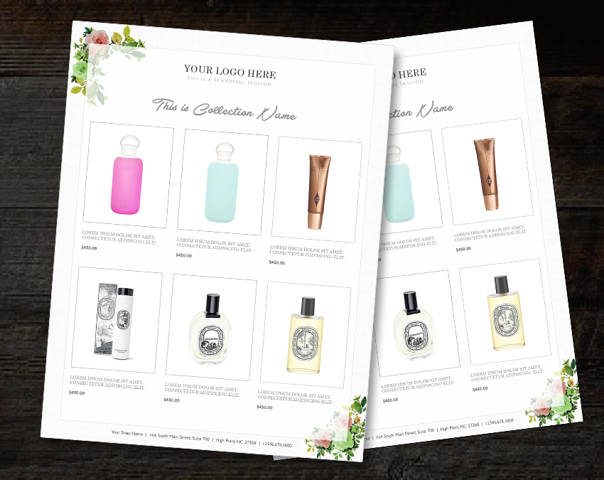 catalog template product catalog indesign catalogue custom product