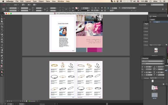 wholesale catalog template product catalog indesign catalogue