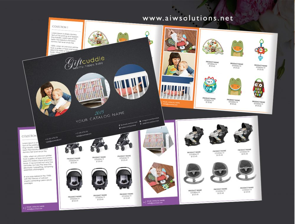 Wholesale Catalog template, Product Catalog, InDesign Catalogue ...