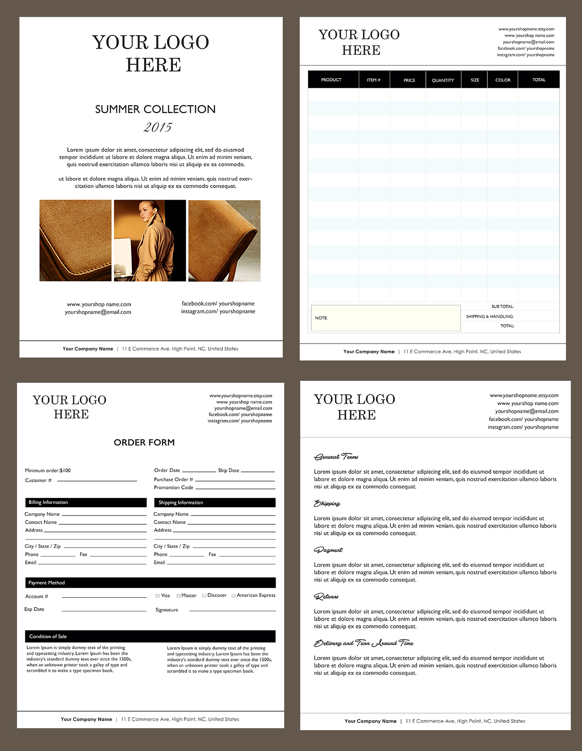 7 service price list template buzzines templates