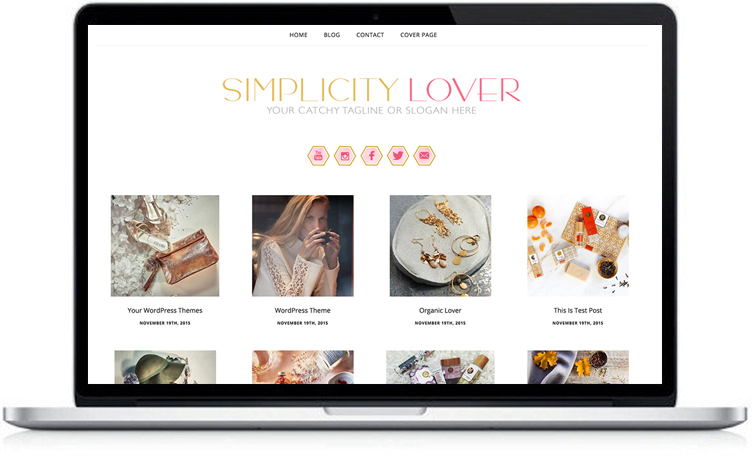 simple yet stylish Wordpress theme. You can use this theme for your blog or website.