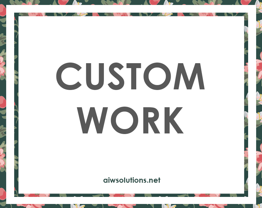 Custom Work Banner Design Namecard Design Menu Design Website