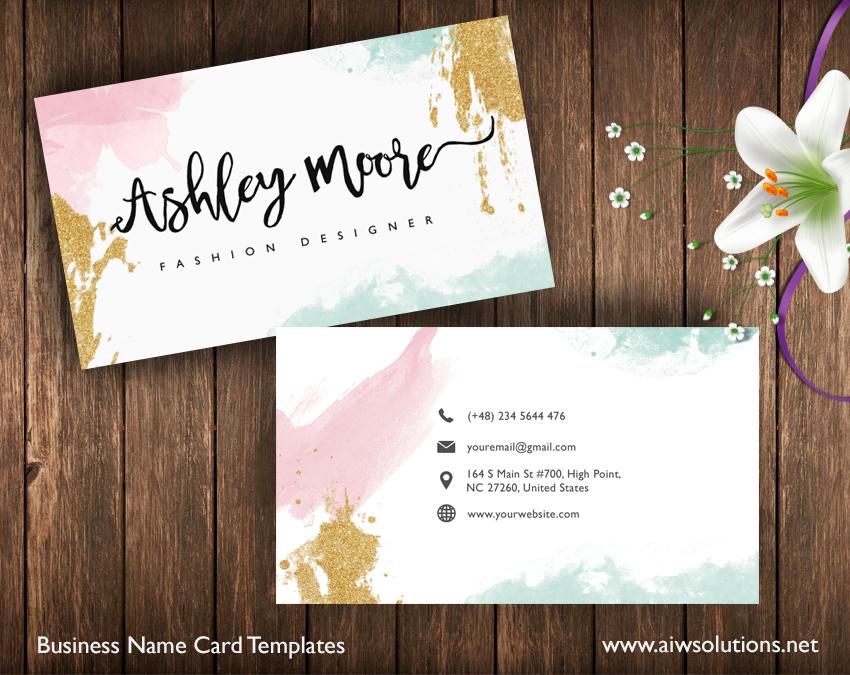 custom namecard design