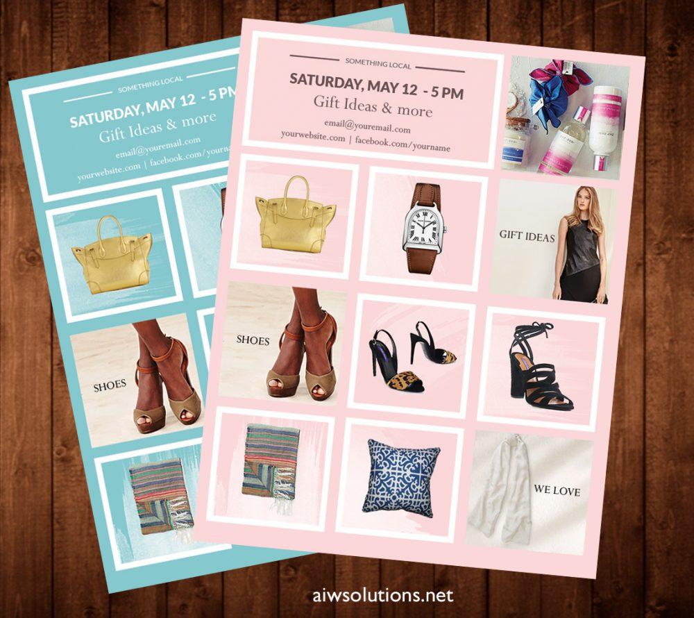 Product Showcase, Wholesale line sheet template, Line Sheet template, product brochure, Minimalist Wholesale Sheet, simple product sheet