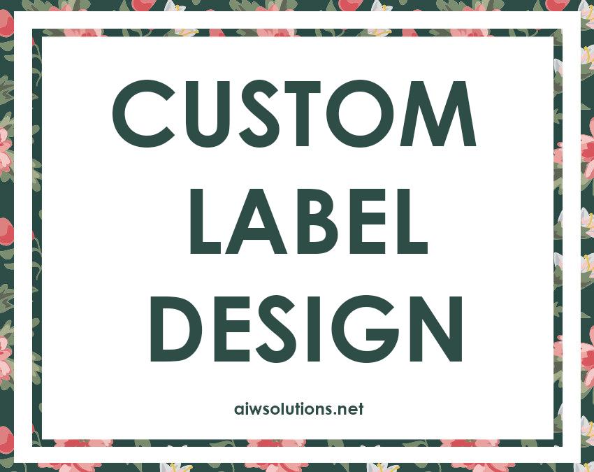 Beauty Product Label Designers Custom Design Hang Tag Soap Sugar Perfume