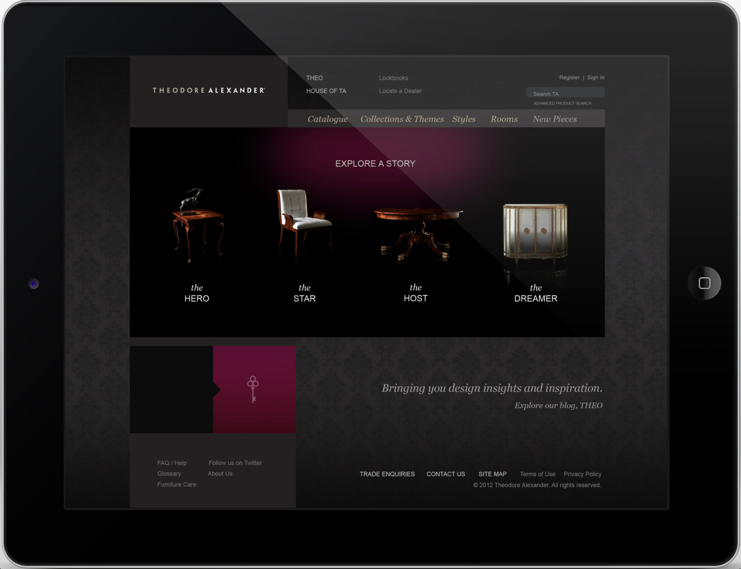 FURNITURE WEBSITE DESIGN SERVICE