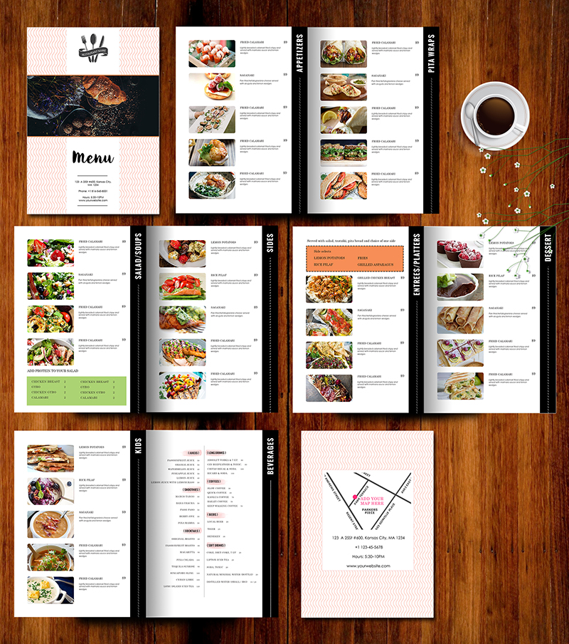 Design & Templates, Menu Templates ,Wedding Menu , Food Menu ,bar menu ,template bar menu ...
