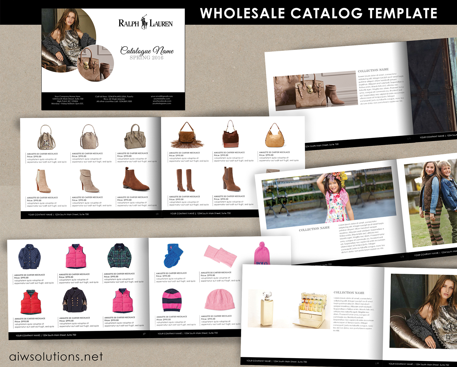 product catalog template for hat catalog shoe catalog template hand bag template accessory. Black Bedroom Furniture Sets. Home Design Ideas