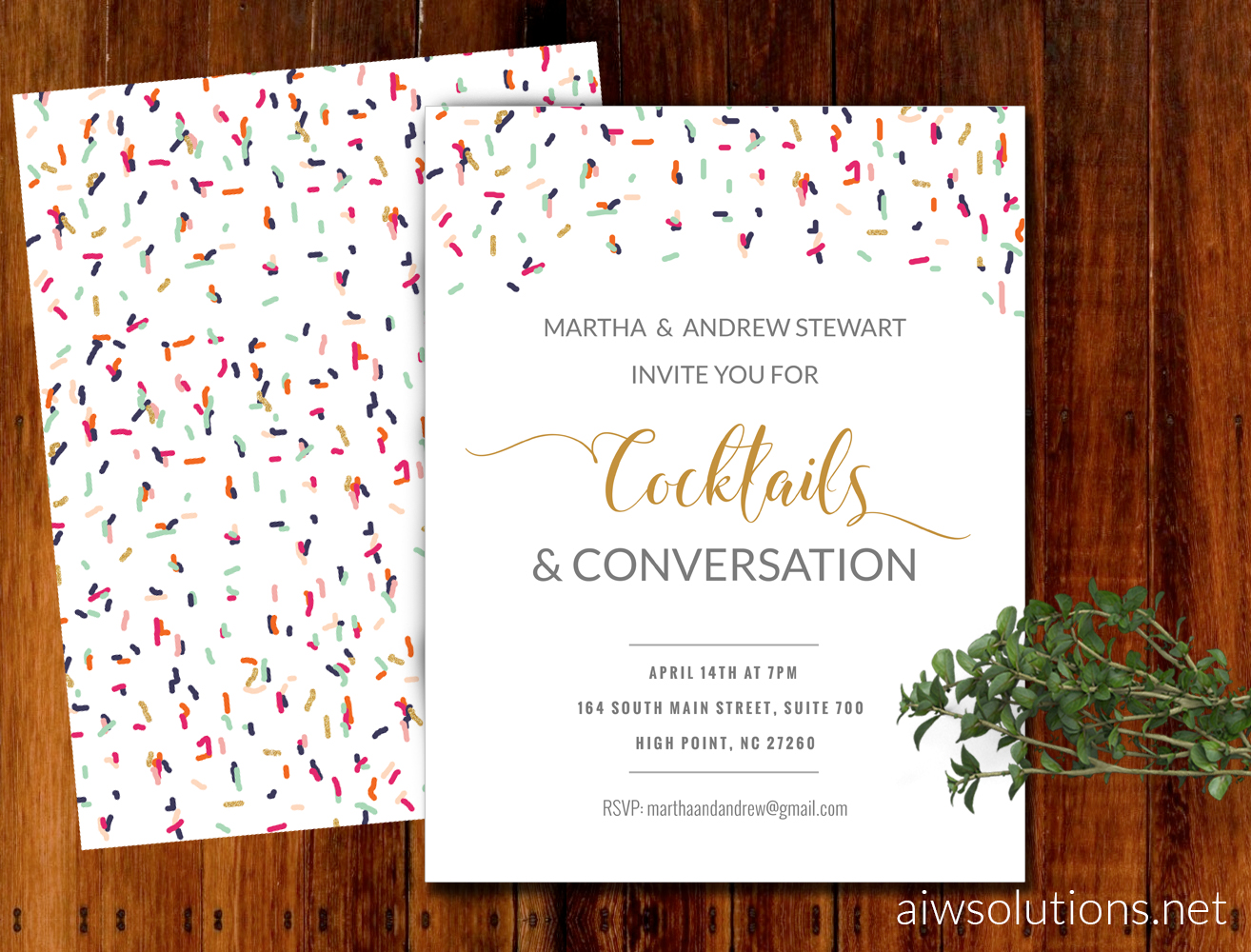 flyer templatet invitation template 1