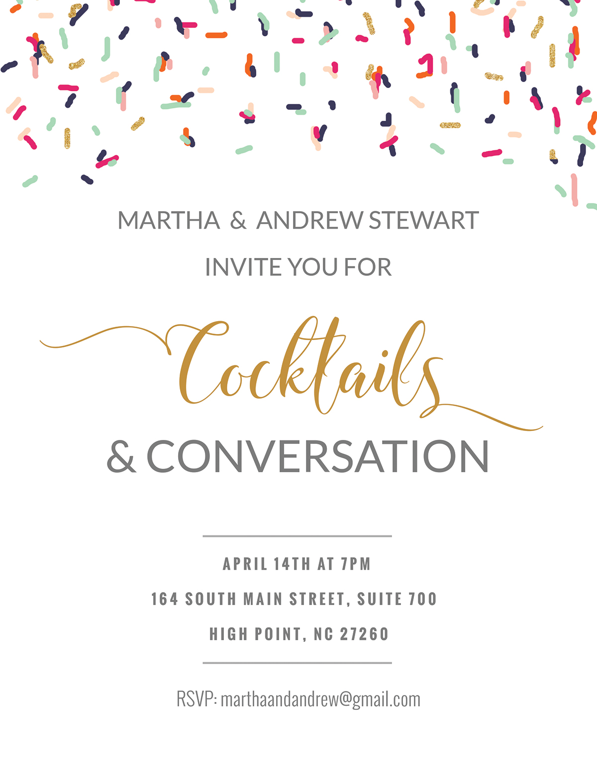 invitation-front template