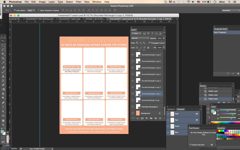 line sheet catalog template 2