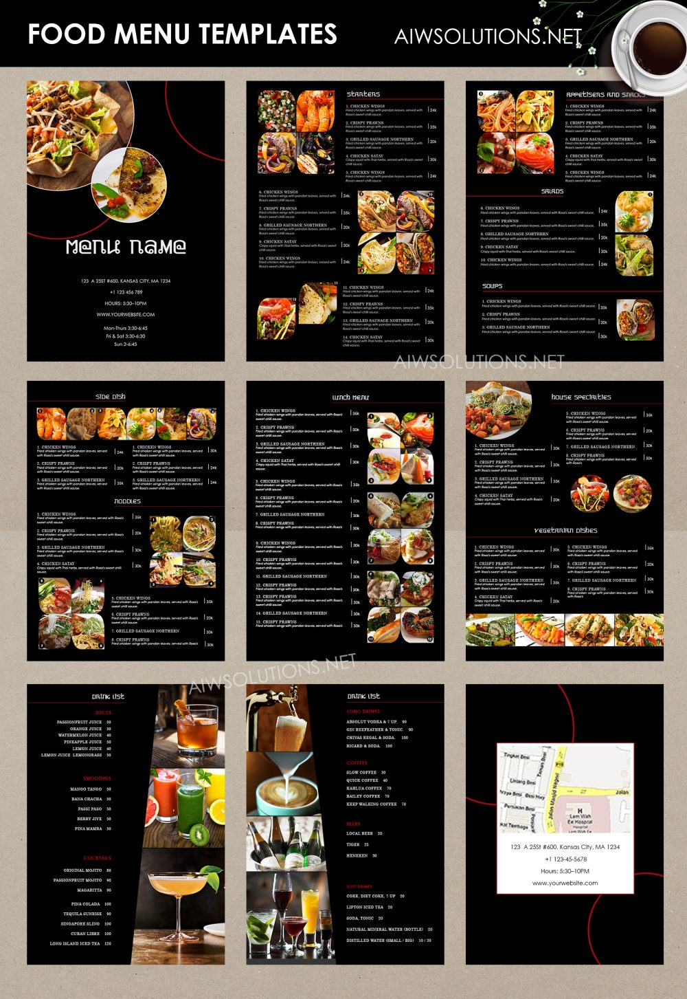 Customize Best Bar Menu