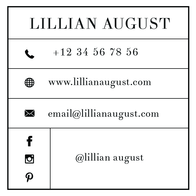 square name card free download