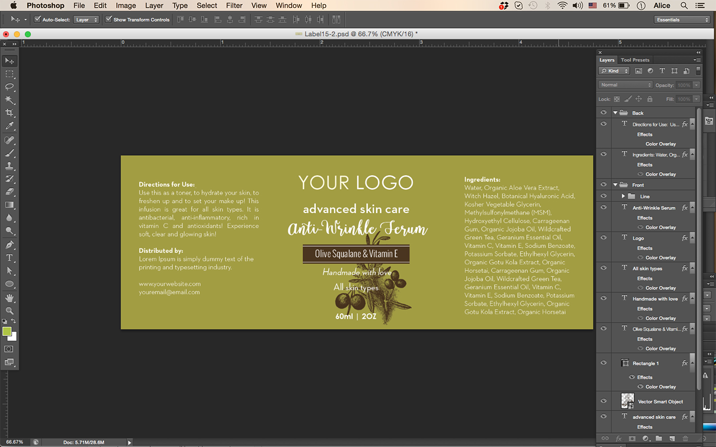 olive-editable-label-template