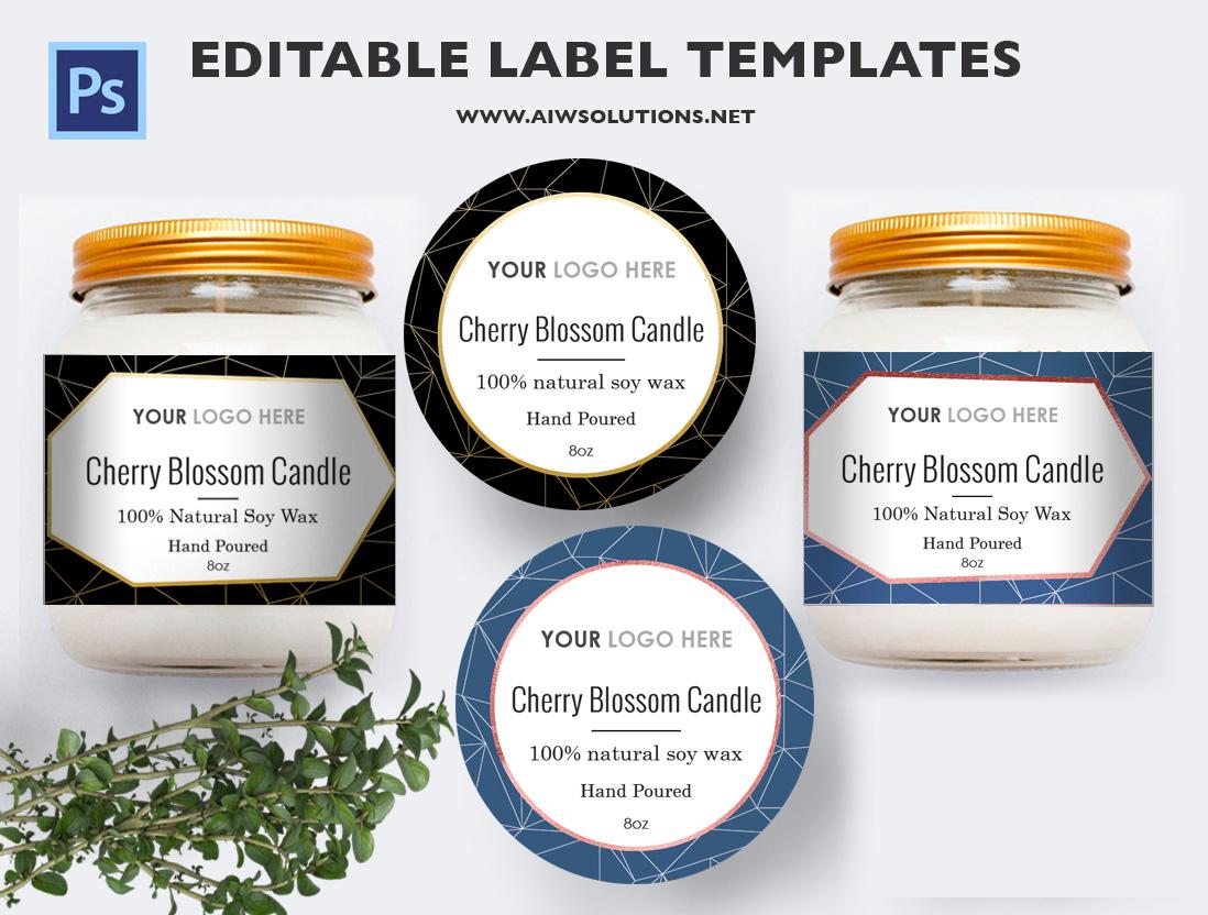 jar label template