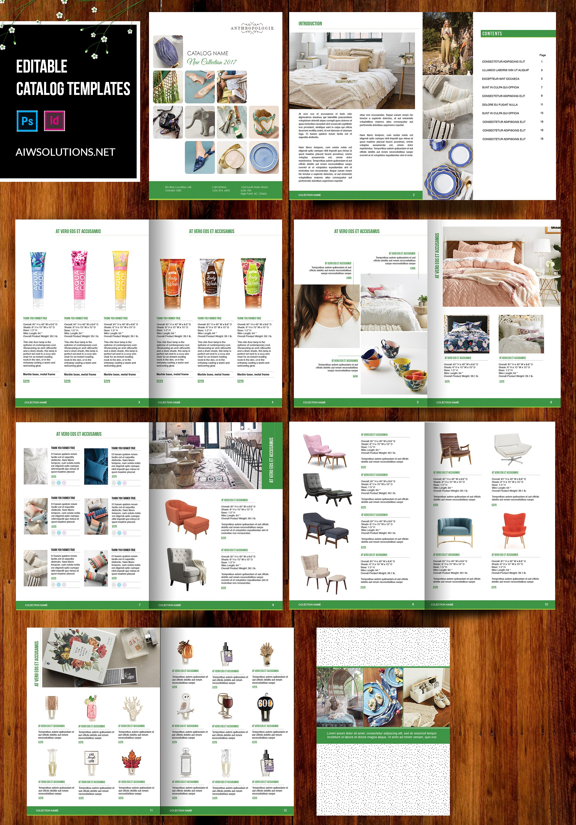 Catalog Template | Product Catalog Template For Hat Catalog Shoe Catalog Template