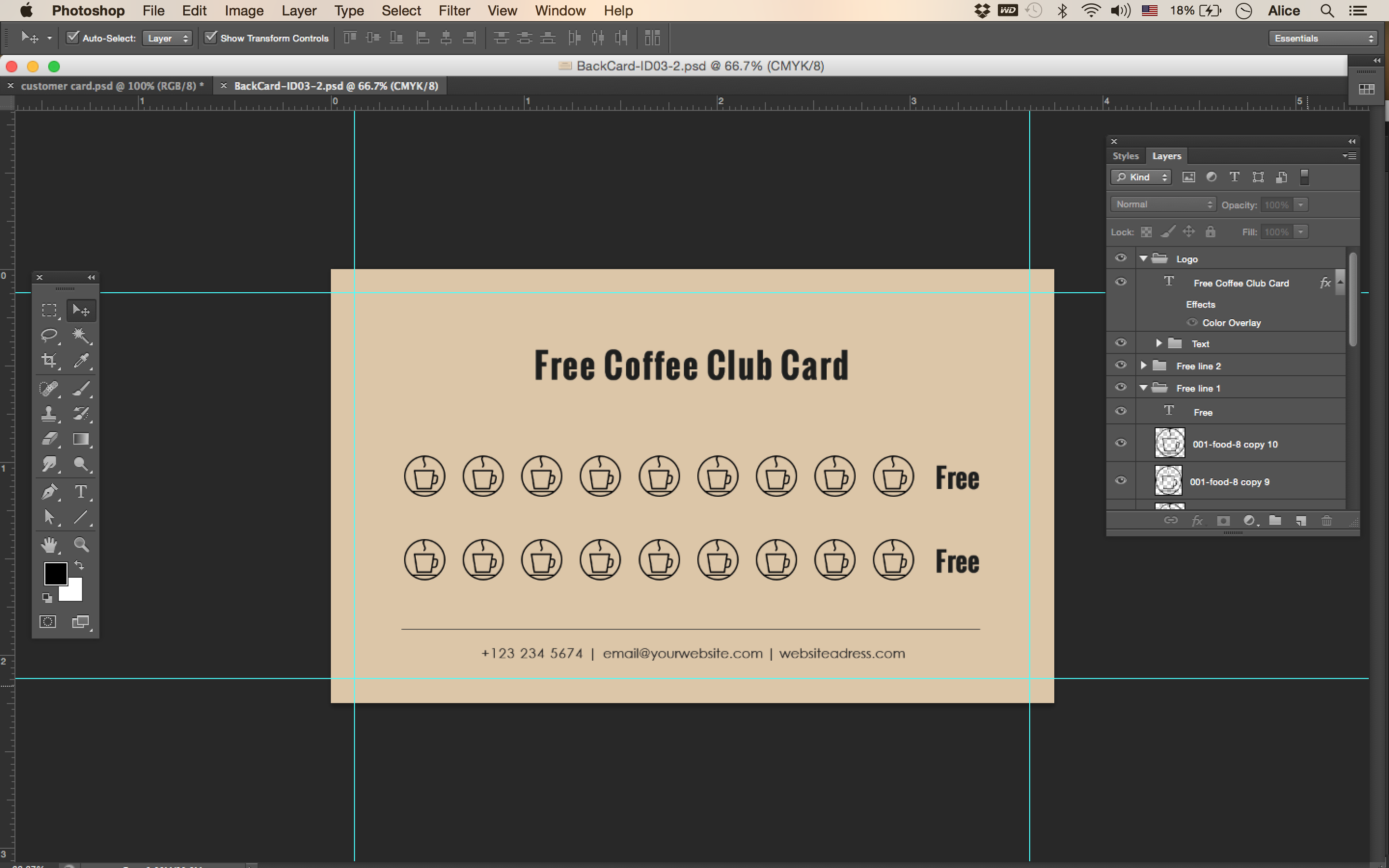free coffee loyalty card