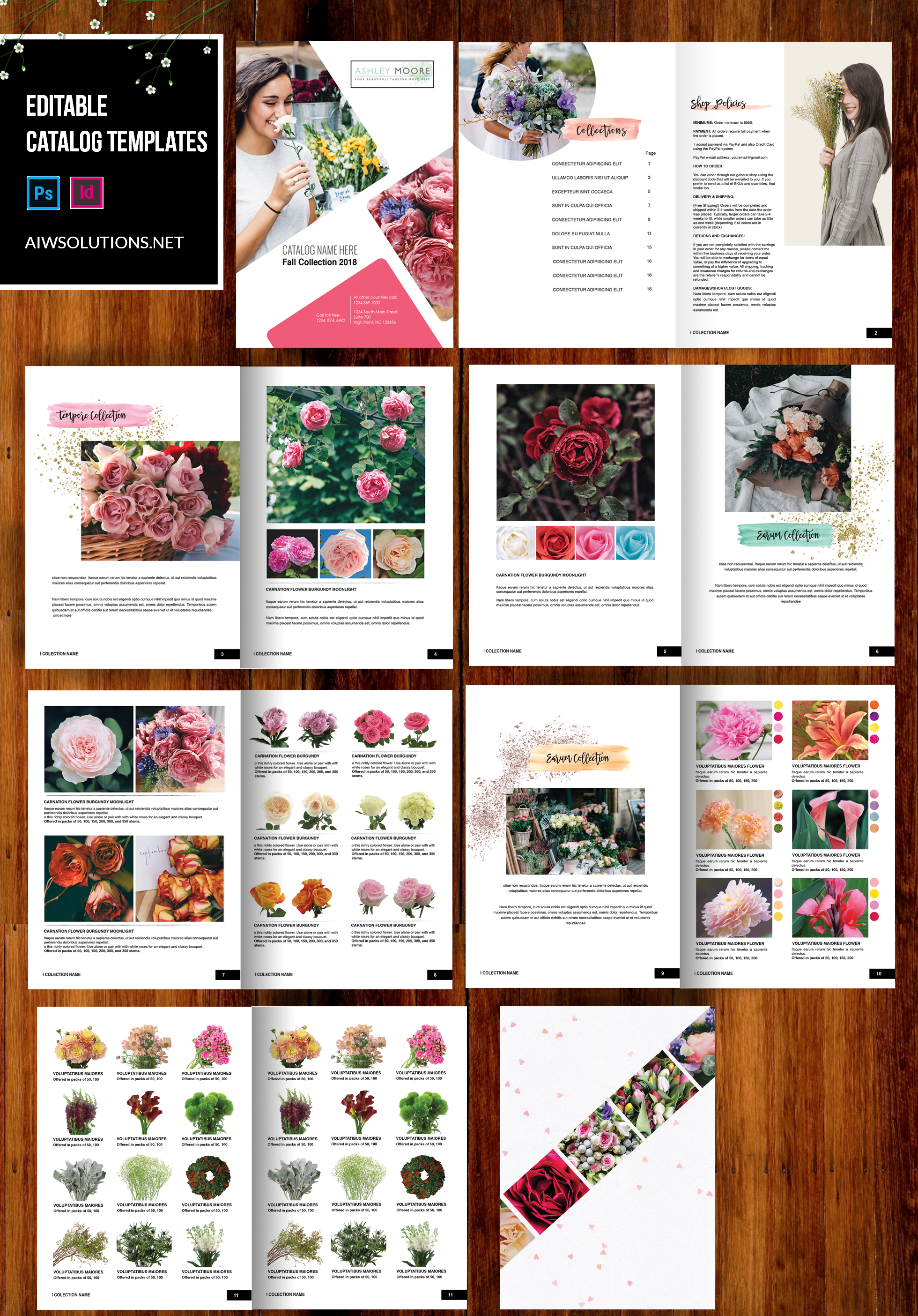 wholesale flower catalog-DEMO CATALOG