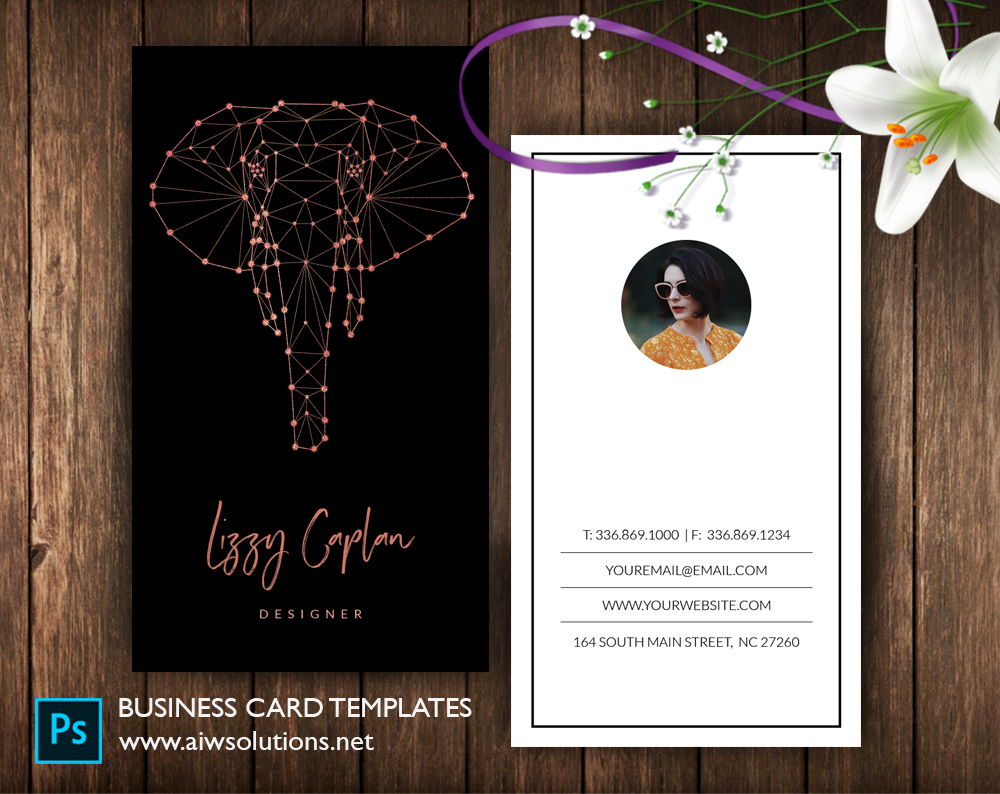 Graphic Design Name Card Template Business Card Template - Template business cards