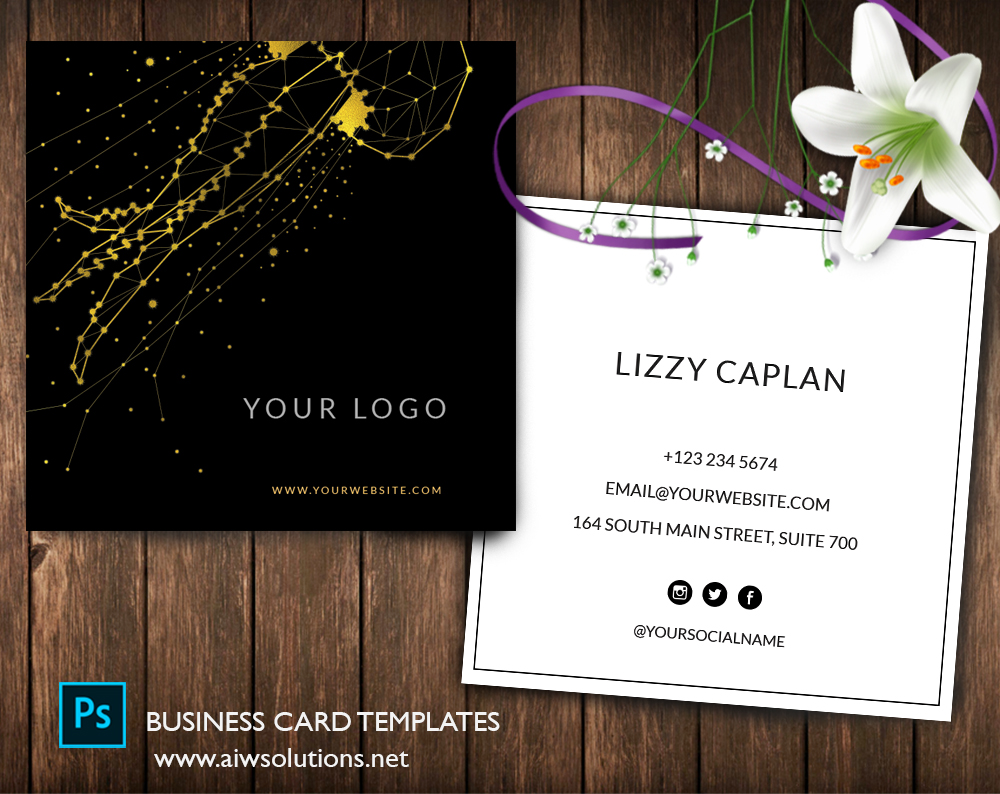 Graphic Design, Name Card Template, Business Card Template ...