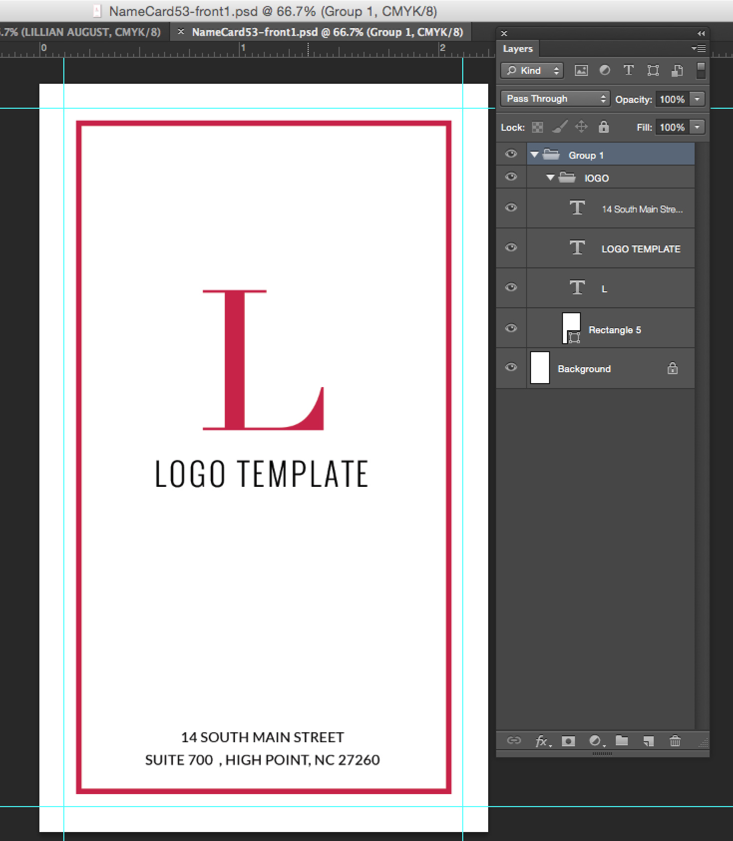 Premade business card template name card template photography name modern business card template reheart Images