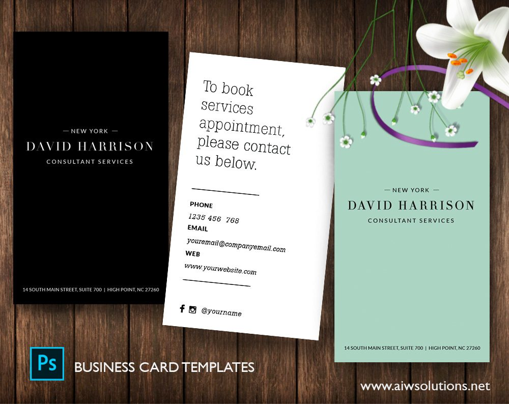 Business card page 2 aiwsolutions quick view reheart Images
