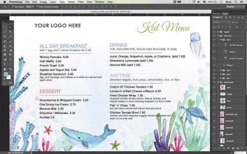 Menu-kid-restaurant-template