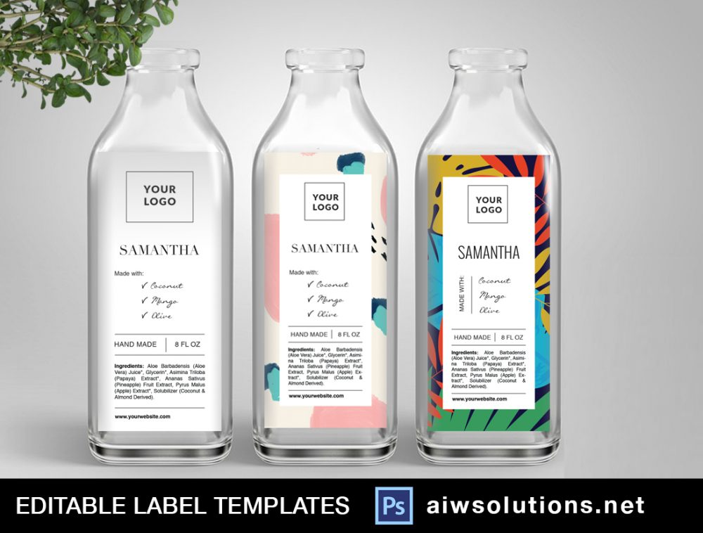 Label template ID54