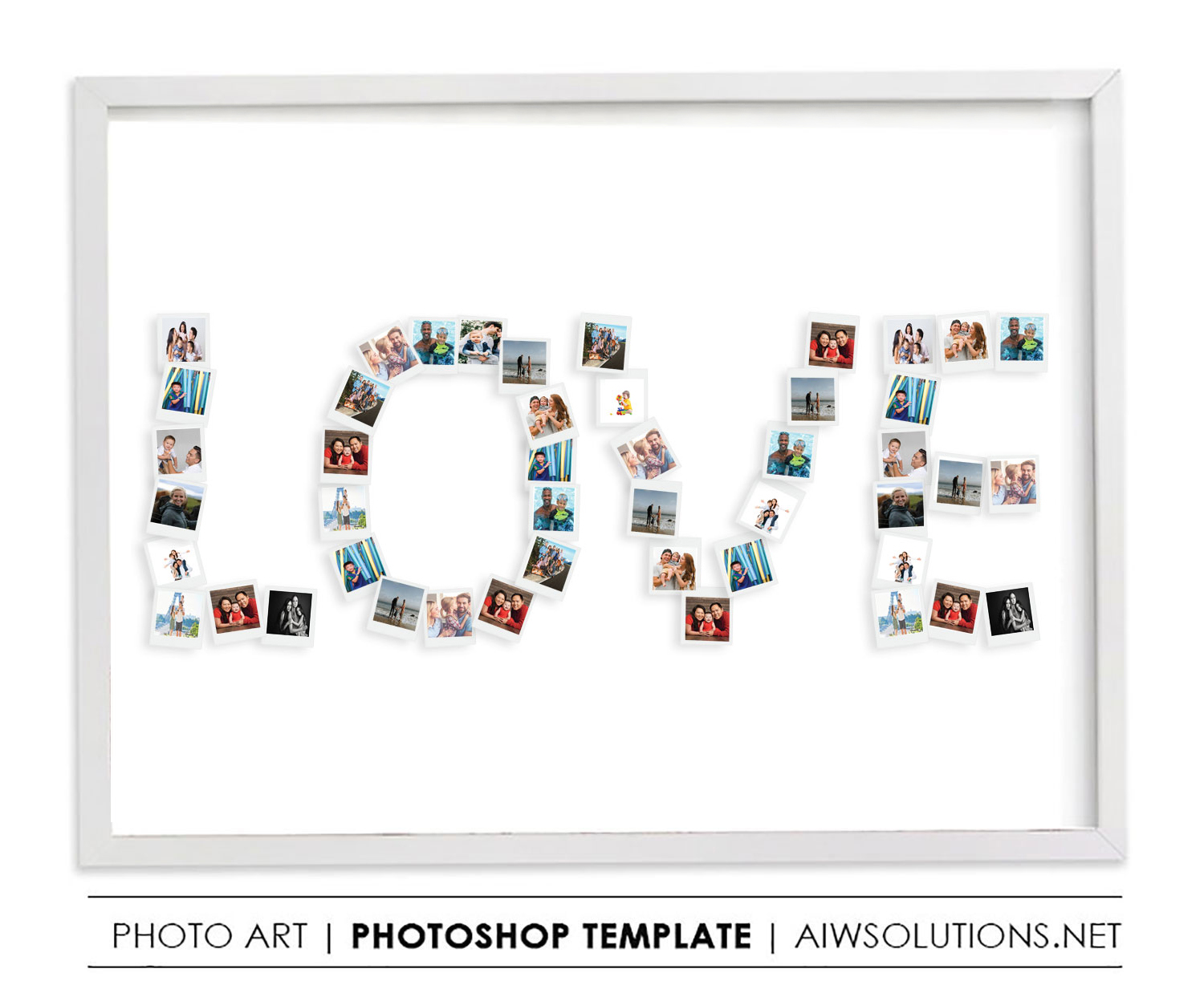 Love Photo Collage Template